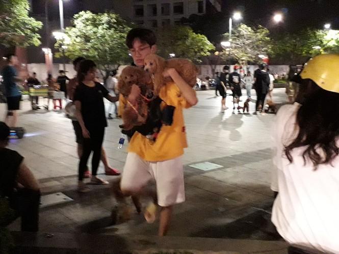 Phố đi bộ Nguyễn Huệ thành… phố hàng rong, nơi dắt cún cưng đi dạo  - ảnh 4