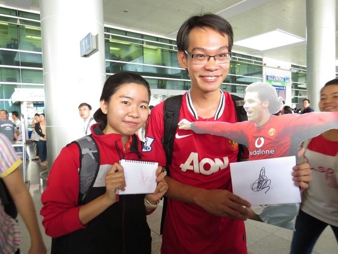 Van Nistelrooy đã đến Sài Gòn cùng Cup Champions League - ảnh 8