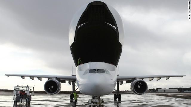 Bên trong siêu máy bay vận tải Airbus cực khủng - ảnh 6