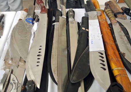 Choáng với lượng vũ khí 141 Hà Nội bắt trong 3 năm - ảnh 12