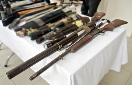 Choáng với lượng vũ khí 141 Hà Nội bắt trong 3 năm - ảnh 4