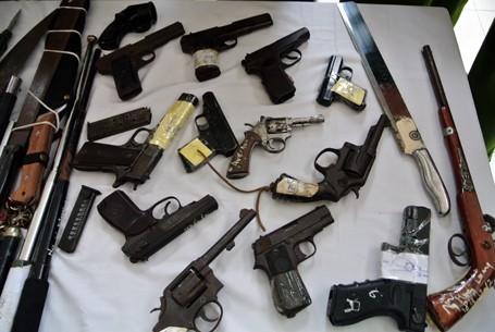 Choáng với lượng vũ khí 141 Hà Nội bắt trong 3 năm - ảnh 5