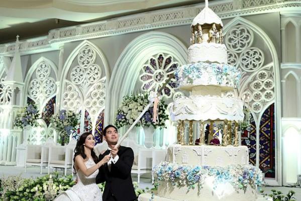 Cặp đôi tỷ phú Indonesia chi hơn 1 triệu USD làm đám cưới - ảnh 10