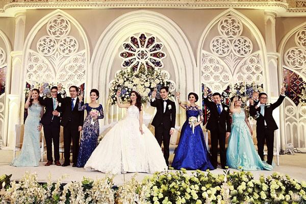 Cặp đôi tỷ phú Indonesia chi hơn 1 triệu USD làm đám cưới - ảnh 11