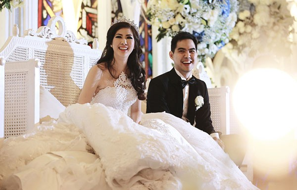 Cặp đôi tỷ phú Indonesia chi hơn 1 triệu USD làm đám cưới - ảnh 12
