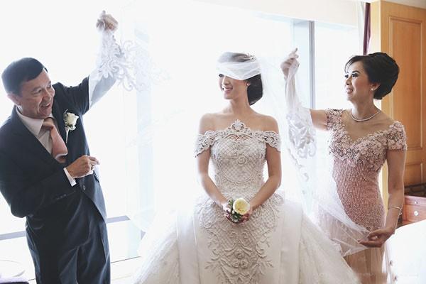 Cặp đôi tỷ phú Indonesia chi hơn 1 triệu USD làm đám cưới - ảnh 2