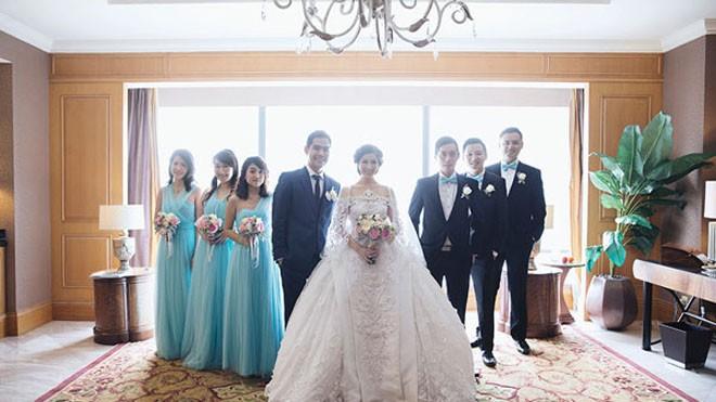 Cặp đôi tỷ phú Indonesia chi hơn 1 triệu USD làm đám cưới - ảnh 4
