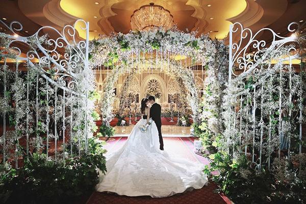 Cặp đôi tỷ phú Indonesia chi hơn 1 triệu USD làm đám cưới - ảnh 8