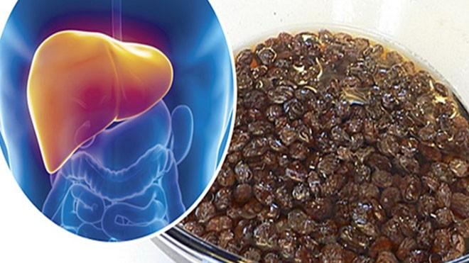 Thải độc gan bằng nho khô theo phương pháp truyền thống của Nga - ảnh 1