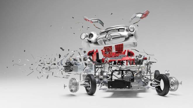 Khoảnh khắc ôtô 'nổ tung' hiếm có qua ảnh nghệ thuật - ảnh 1