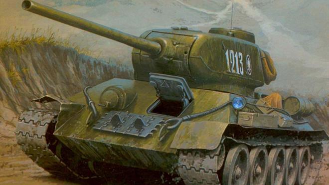 Xe tăng - Sức mạnh đột kích chính của Hồng quân Liên Xô - ảnh 1