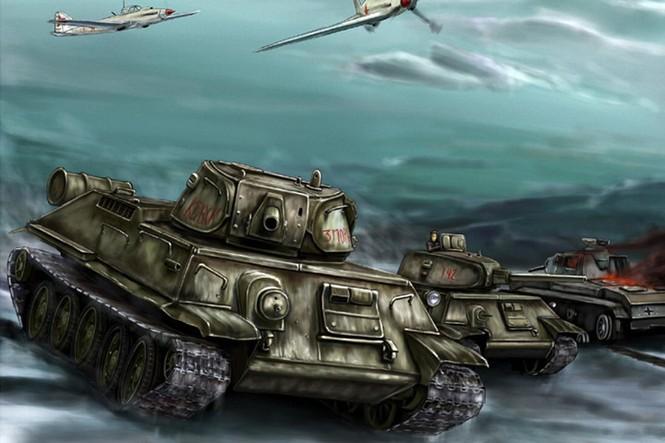 Xe tăng - Sức mạnh đột kích chính của Hồng quân Liên Xô - ảnh 8