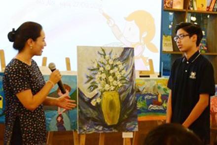 """Triển lãm """"Vẽ lên cổ tích"""" ủng hộ Quỹ Thiện Nhân - ảnh 3"""