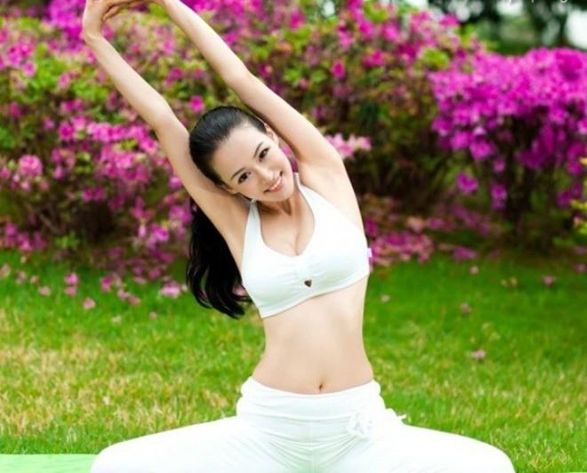 Người đẹp được xưng tụng là đệ nhất mỹ nữ yoga - ảnh 1