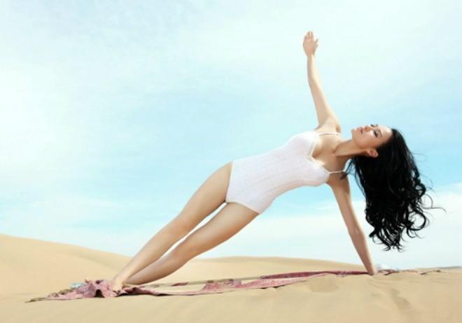 Người đẹp được xưng tụng là đệ nhất mỹ nữ yoga - ảnh 7