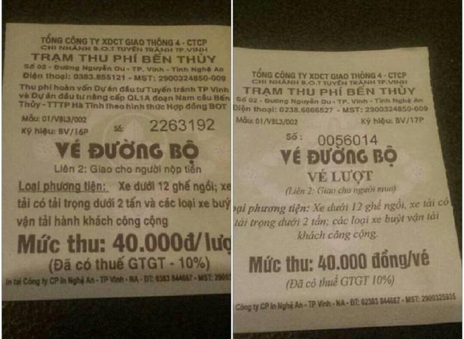 Vụ BOT Bến Thủy: Không phạm luật khi dùng tiền lẻ mua vé - ảnh 1