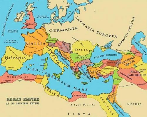 Năm đế chế hùng mạnh nhất lịch sử thế giới - ảnh 1
