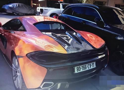 Siêu xe McLaren 570S do 'trùm' ma túy Việt Nam sử dụng - ảnh 1