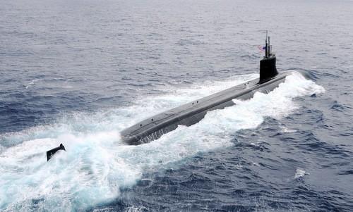 Tàu ngầm được mệnh danh 'tiêm kích F-22 dưới biển' của Mỹ - ảnh 1