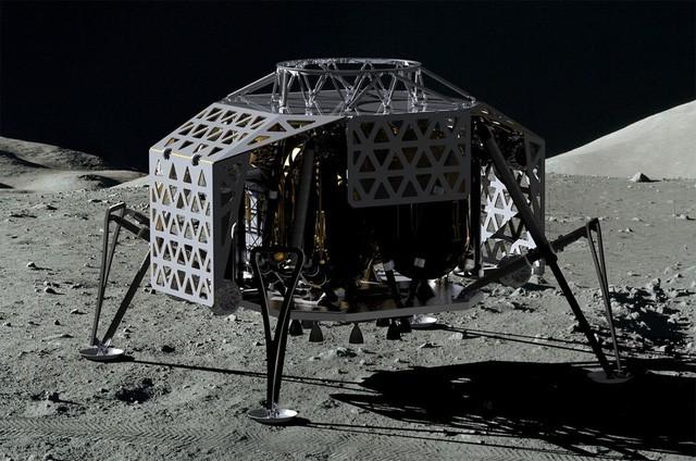 Từ mặt trăng rút smartphone gọi về trái đất: Chuyện sắp thành hiện thực - ảnh 1