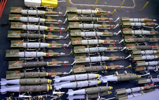 800.000 quả bom trị giá 95 triệu USD ở Guam sẵn sàng đối phó Triều Tiên - ảnh 1