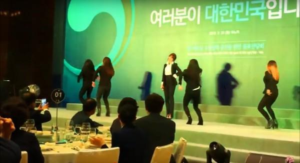 Hari Won 'tim muốn rớt' khi được hát tại tiệc tiếp Tổng thống Hàn Quốc - ảnh 1