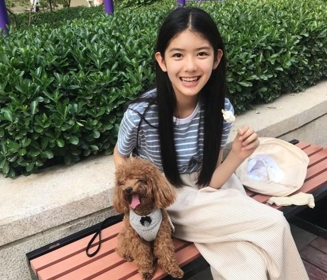Cô bé 12 tuổi cao 1,60 m được ví như 'tiểu mỹ nhân' Trung Quốc - ảnh 8