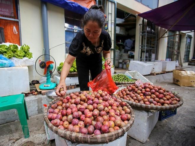 Người Hà Nội nhộn nhịp sắm Tết Đoan Ngọ, rượu nếp cấm hút khách - ảnh 8