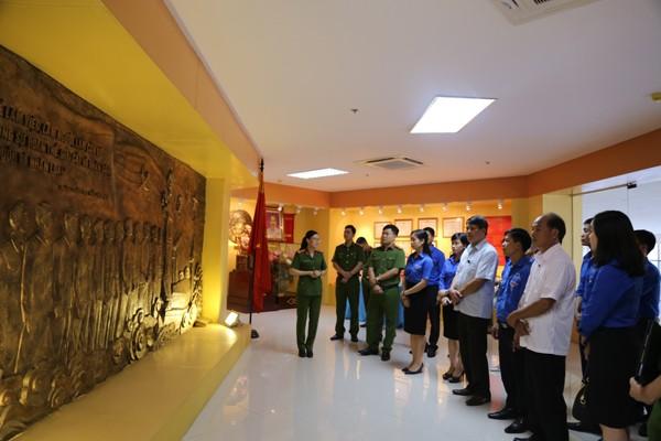 Đoàn thanh niên Học viện CSND ký kết nghĩa với Huyện đoàn Sơn Dương - ảnh 2