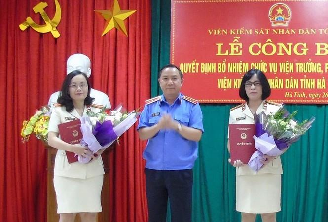 Nhân sự mới Long An, Quảng Ninh, Hà Tĩnh - ảnh 3
