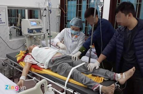 Hiện trường bi thảm vụ 5 người thương vong sau vụ truy sát lúc sáng sớm - ảnh 8