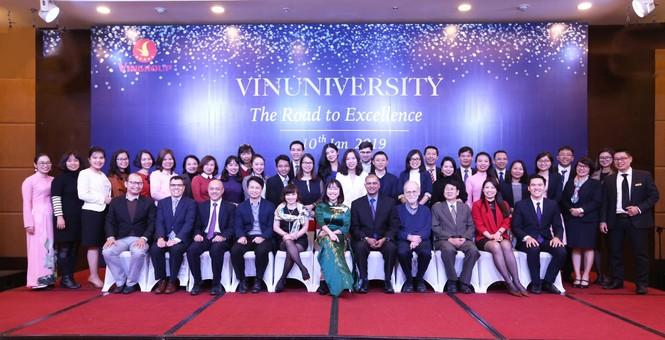 Dự án trường đại học Vinuni công bố hiệu trưởng đầu tiên  - ảnh 2