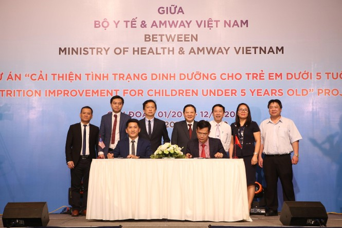 Amway Việt Nam năm thứ 4 liên tiếp phát hành báo cáo trách nhiệm xã hội - ảnh 1