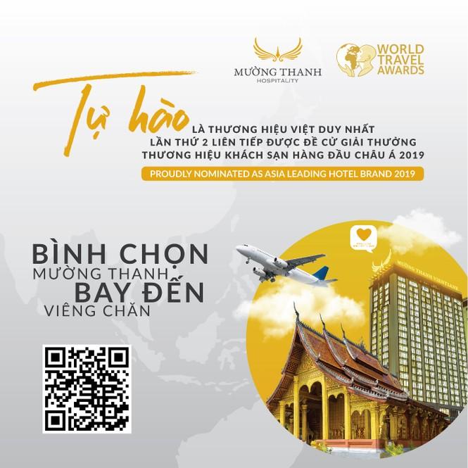 Mường Thanh tiếp tục lọt đề cử 'thương hiệu khách sạn hàng đầu Châu Á 2019' WTA - ảnh 2