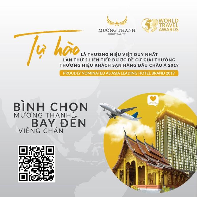 Bình chọn cho Mường Thanh tại WTA nhận cơ hội bay tới Viêng Chăn  - ảnh 1
