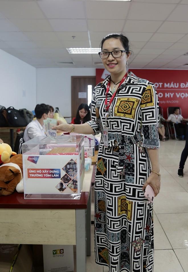 CBNV tập đoàn TNG Holdings Việt nam gây quỹ xây trường học cho trẻ em vùng cao - ảnh 2