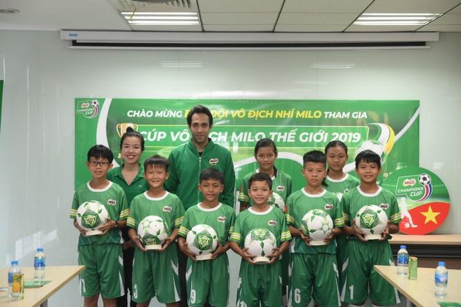 Tuyển bóng đá nhí Việt Nam lần đầu tranh tài tại giải đấu quốc tế - ảnh 3