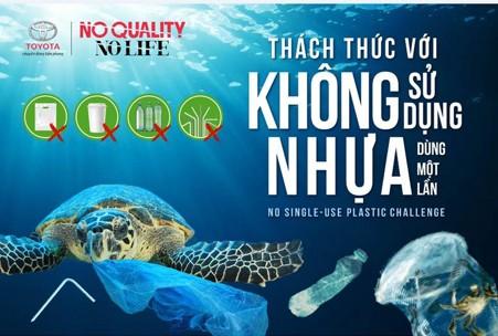 Toyota Việt Nam chia sẻ 'kinh nghiệm' chống rác thải nhựa từ cơ sở - ảnh 2