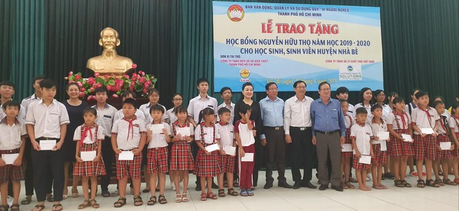 VWS đồng hành trao 481 suất học bổng Nguyễn Hữu Thọ - ảnh 1
