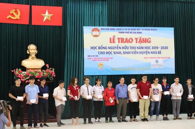 VWS đồng hành trao 481 suất học bổng Nguyễn Hữu Thọ - ảnh 2