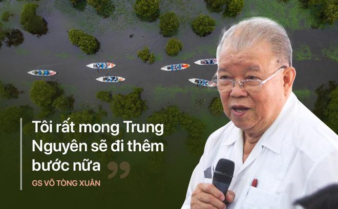 GS Võ Tòng Xuân: 'Tôi mong Đặng Lê Nguyên Vũ, Trung Nguyên sẽ đi thêm bước nữa' - ảnh 2