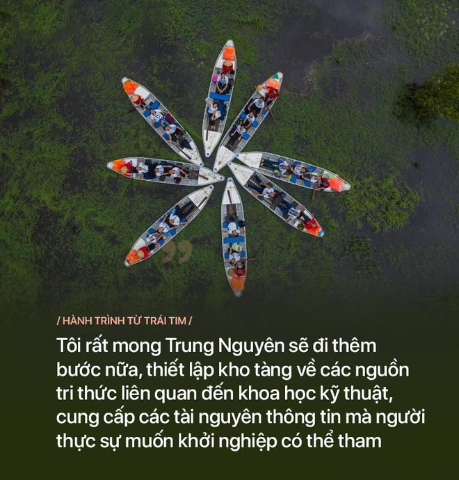 GS Võ Tòng Xuân: 'Tôi mong Đặng Lê Nguyên Vũ, Trung Nguyên sẽ đi thêm bước nữa' - ảnh 6