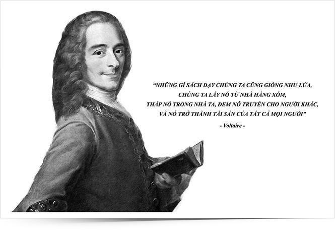 Kỳ 16: Nhà tư tưởng Voltaire và những khai sáng bên tách cà phê - ảnh 1