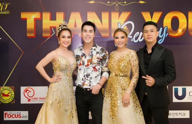 NTK Mai Phương Trang đẹp tựa nữ thần tại sự kiện họp báo cuộc thi Hoa hậu Doanh nhân Tài sắc Thế giới 2020 - ảnh 3