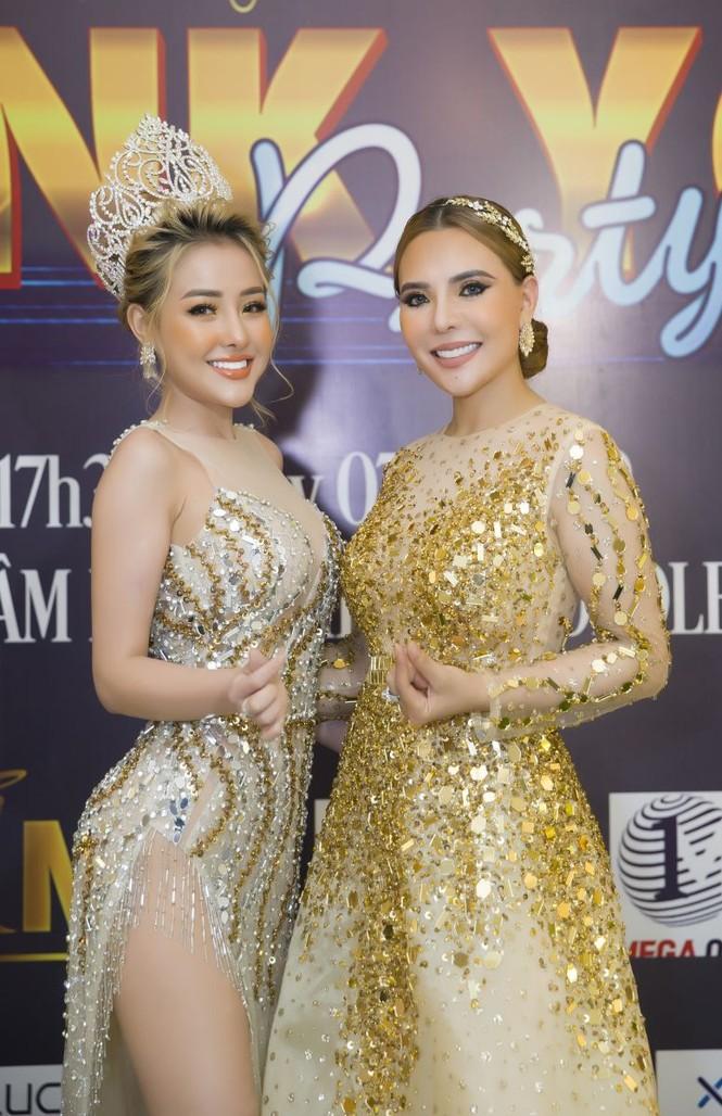 NTK Mai Phương Trang đẹp tựa nữ thần tại sự kiện họp báo cuộc thi Hoa hậu Doanh nhân Tài sắc Thế giới 2020 - ảnh 7