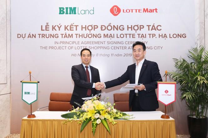 Bim Land hợp tác với Lotte Mart tại Hạ Long - ảnh 1