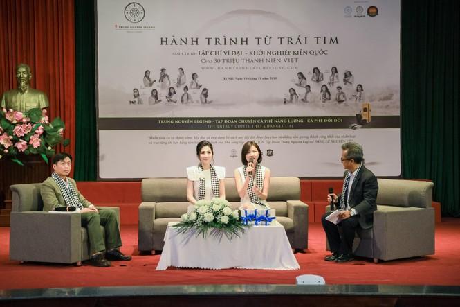 Trung Nguyên Legend đồng hành Bộ LĐ-TB&XH tổ chức Ngày hội tư vấn hướng nghiệp 2019 - ảnh 4