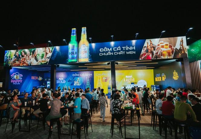 'Đại tiệc' Lễ hội Bia Hà Nội 2019 tại Quảng Ninh và Bắc Giang - ảnh 3