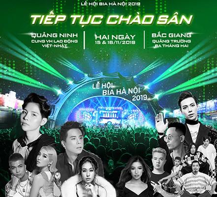 'Đại tiệc' Lễ hội Bia Hà Nội 2019 tại Quảng Ninh và Bắc Giang - ảnh 1
