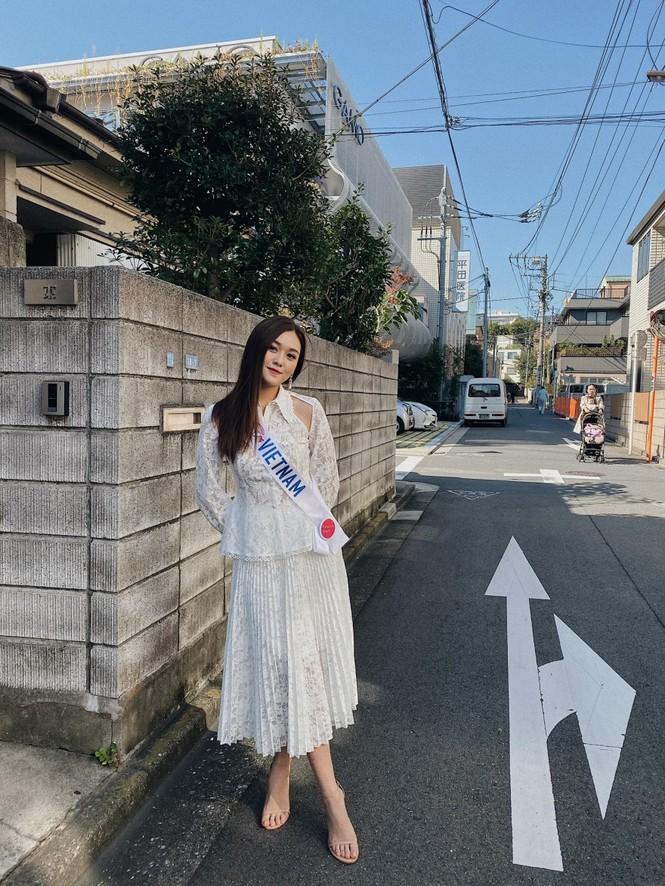 Bên cạnh nhan sắc và khả năng thuyết trình, đây là yếu tố giúp Tường San ghi tên vào Top 8 Miss International 2019 - ảnh 7